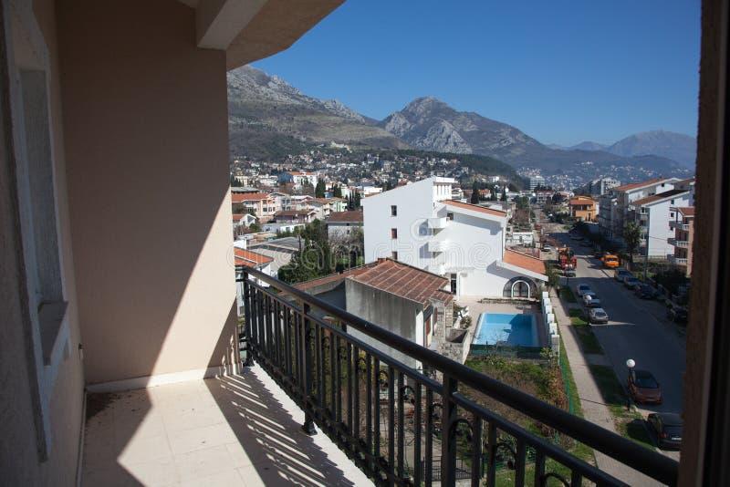 Mening van het balkon stock afbeelding