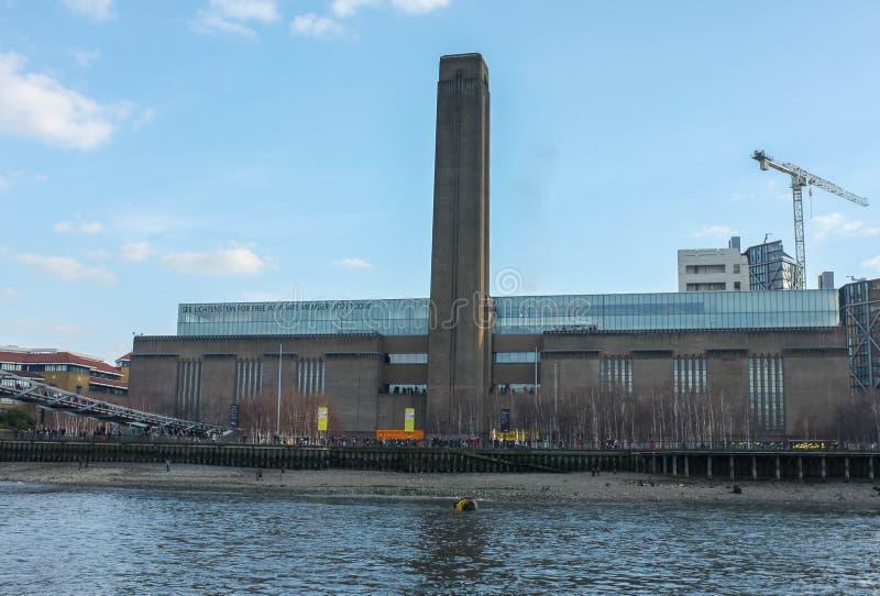 De Kunstgalerie van het Tate Modern, Londen royalty-vrije stock afbeeldingen