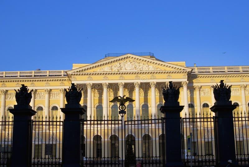 Mening van het Russische Museum van de Staat in heilige-Petersburg stad, Rusland royalty-vrije stock afbeelding