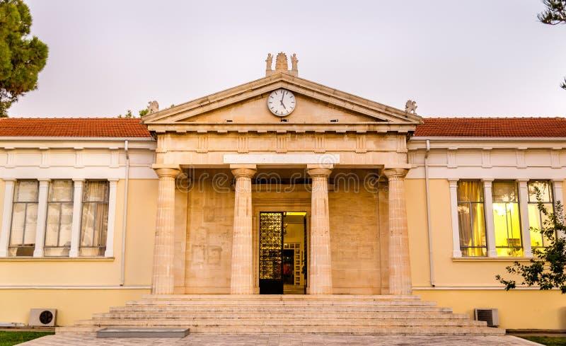 Mening van het Stadhuis van Paphos stock foto's