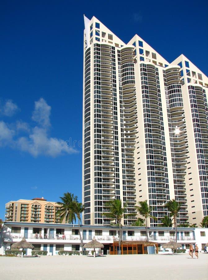Mening van het Strand van Miami royalty-vrije stock foto's