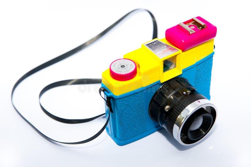 Mening van hierboven van de uitstekende camera van lomodiana F stock fotografie