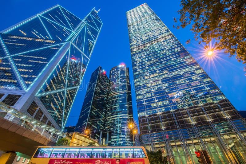 Mening van Hongkong stock afbeeldingen