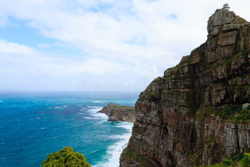 Mening van Kaap van Goede Hoop Zuid-Afrika royalty-vrije stock foto's