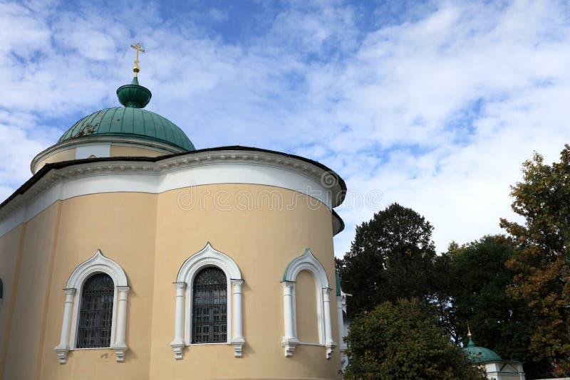 Mening van kerk van Yaroslavl-mirakelarbeiders royalty-vrije stock afbeeldingen