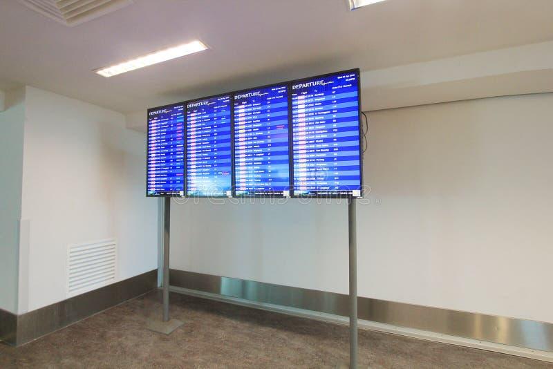 Mening van Kuala Lumpur International Airport royalty-vrije stock afbeeldingen