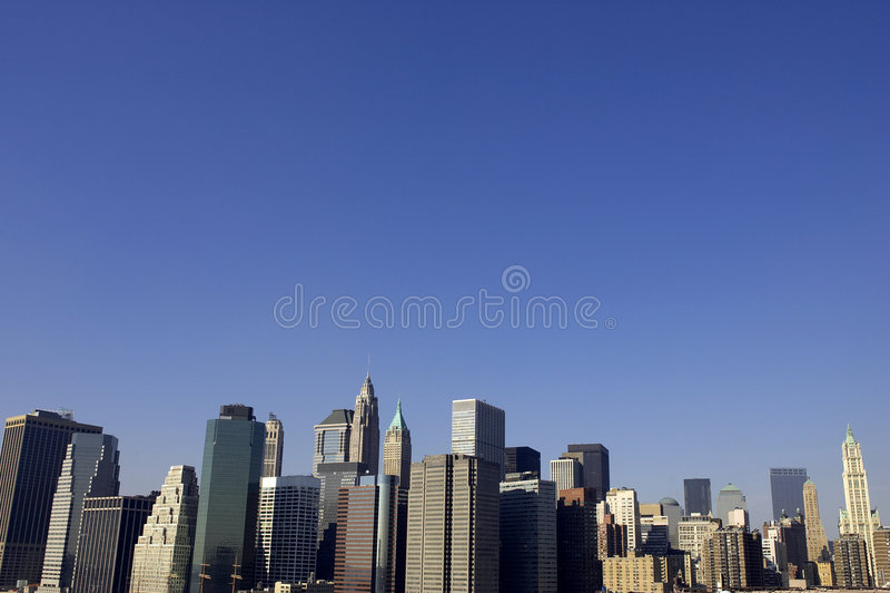 Mening van lager Manhattan royalty-vrije stock foto