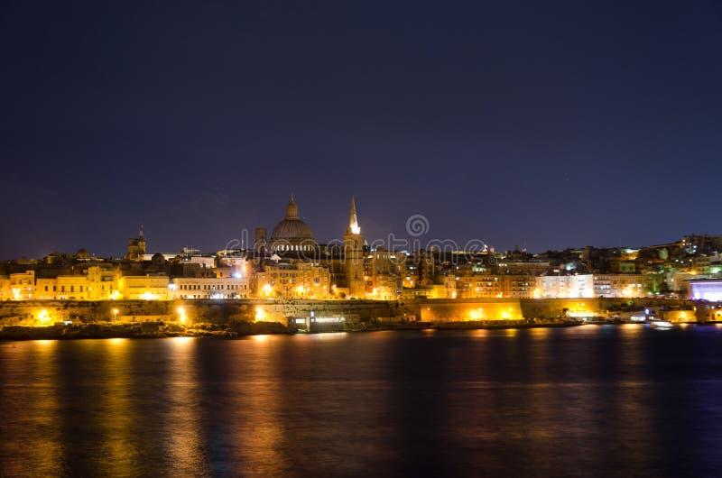 Mening van Malta royalty-vrije stock afbeeldingen