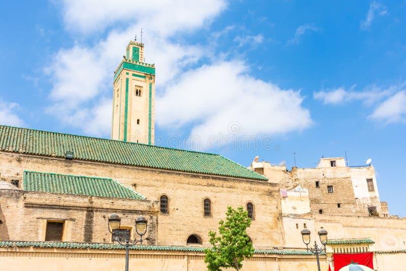 Mening van medina van Fez royalty-vrije stock foto's