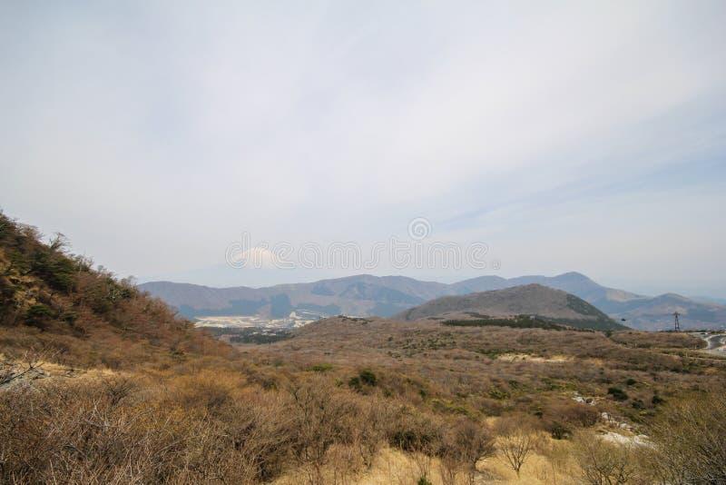 Mening van Mt Fuji van Hakone, Japan stock afbeelding