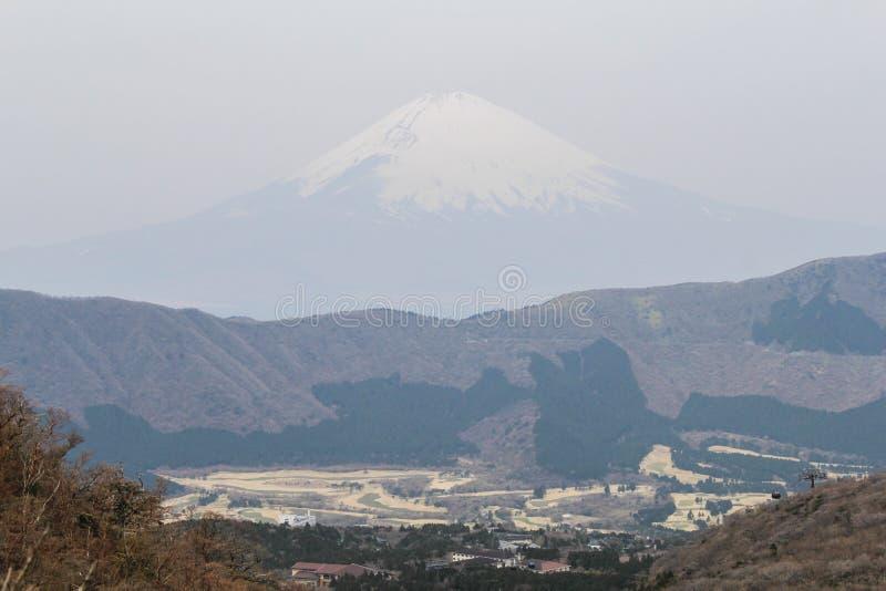 Mening van Mt Fuji van Hakone, Japan stock foto