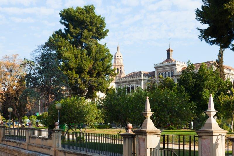 Mening van Murcia in de lente royalty-vrije stock foto's