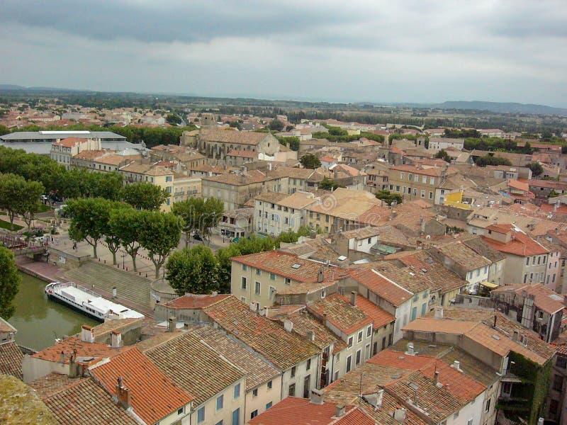 Mening van Narbonne van de kathedraal royalty-vrije stock afbeelding