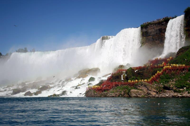 Mening van Niagara Falls royalty-vrije stock foto