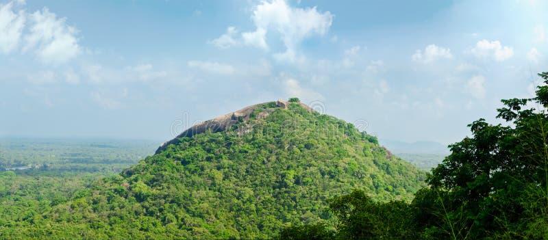 Mening van onderstel Sigiriya royalty-vrije stock foto