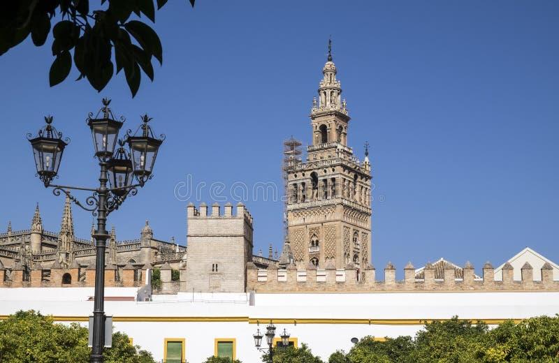 Mening van Peñafiel van Zijn Kasteel 2 stock afbeeldingen