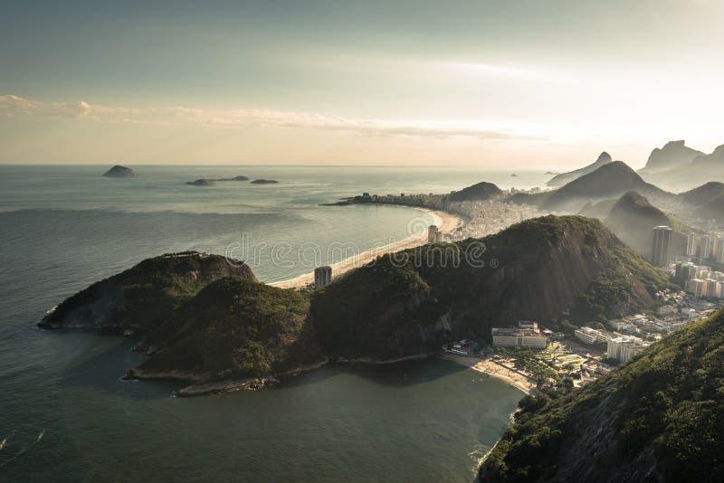 Mening van Rio de Janeiro royalty-vrije stock afbeelding