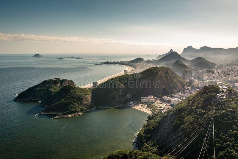 Mening van Rio de Janeiro stock foto's