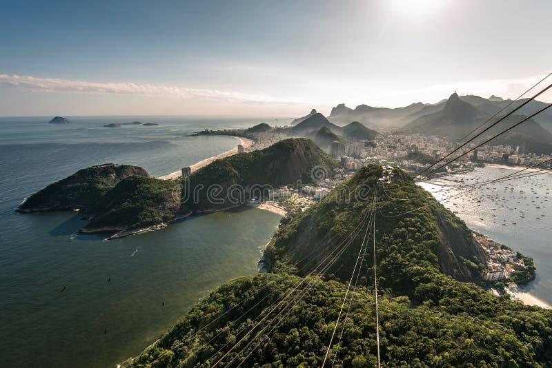 Mening van Rio de Janeiro royalty-vrije stock foto's