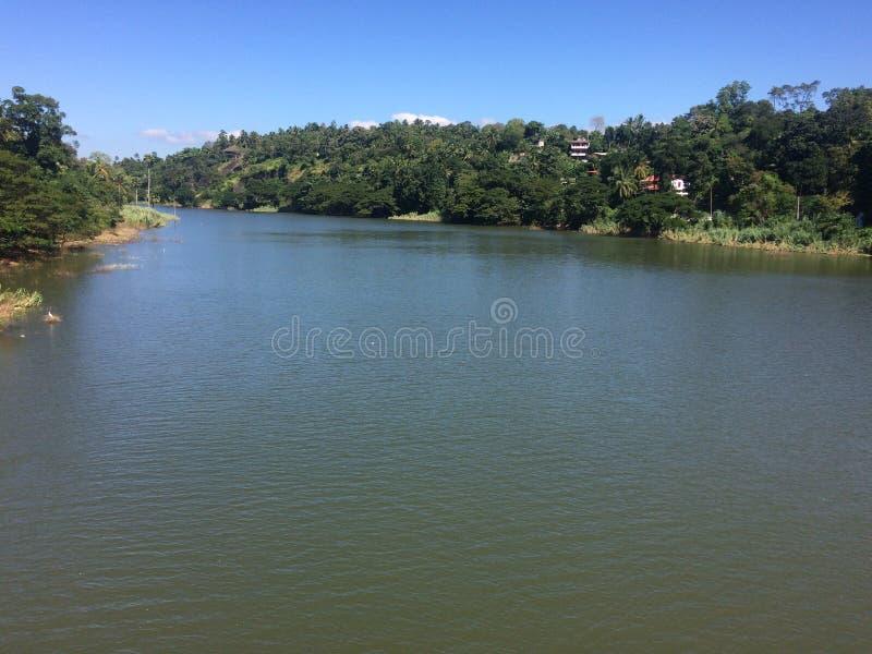 Mening van rivier stock afbeeldingen