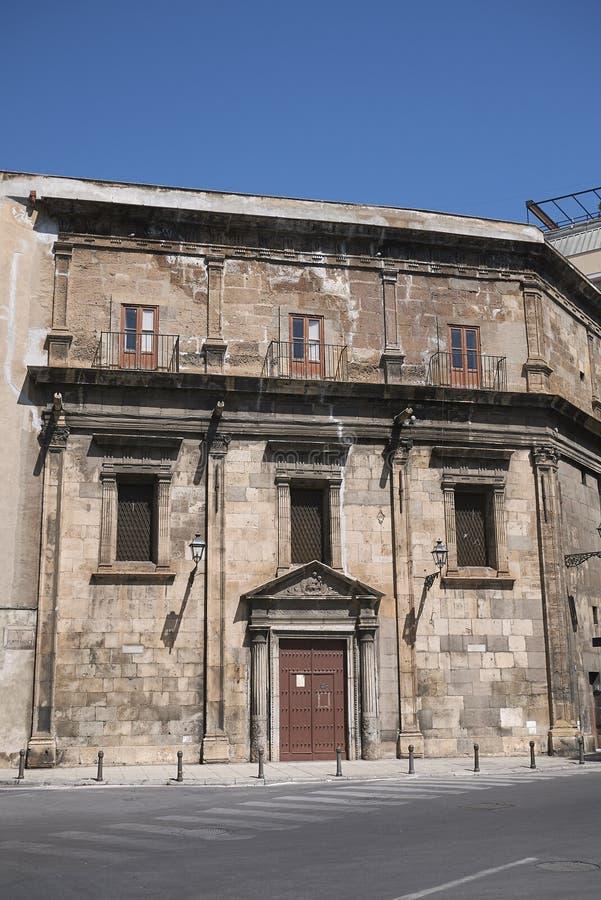 Mening van Santa Maria di Porto Salvo royalty-vrije stock foto