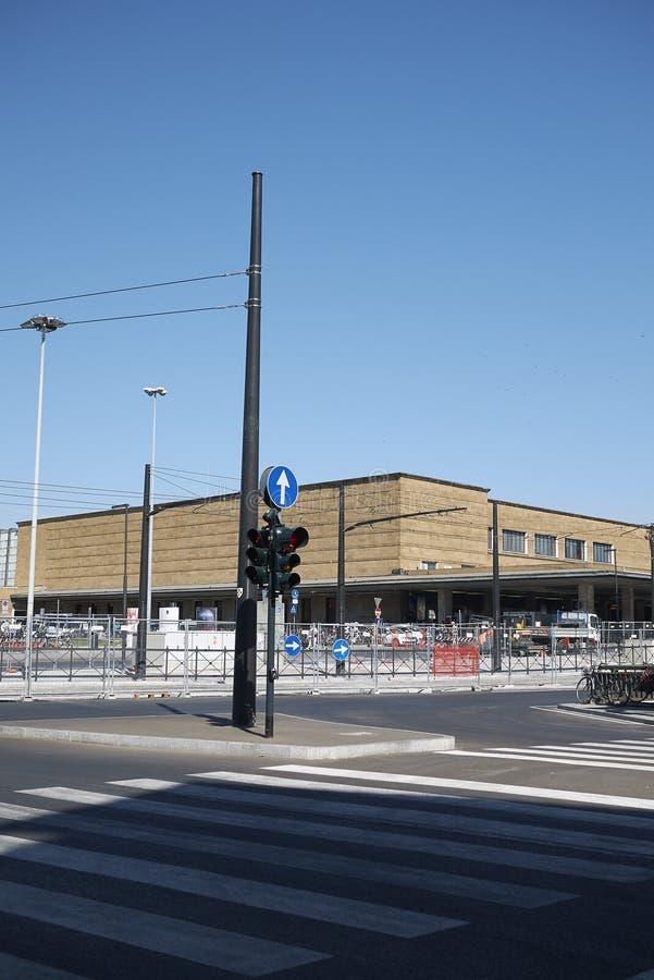 Mening van Santa Maria Novella-station stock foto