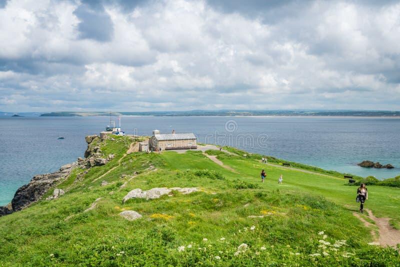 Mening van St Ives baai stock afbeelding