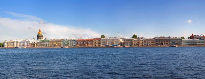 Mening van St. Petersburg, Rusland stock foto