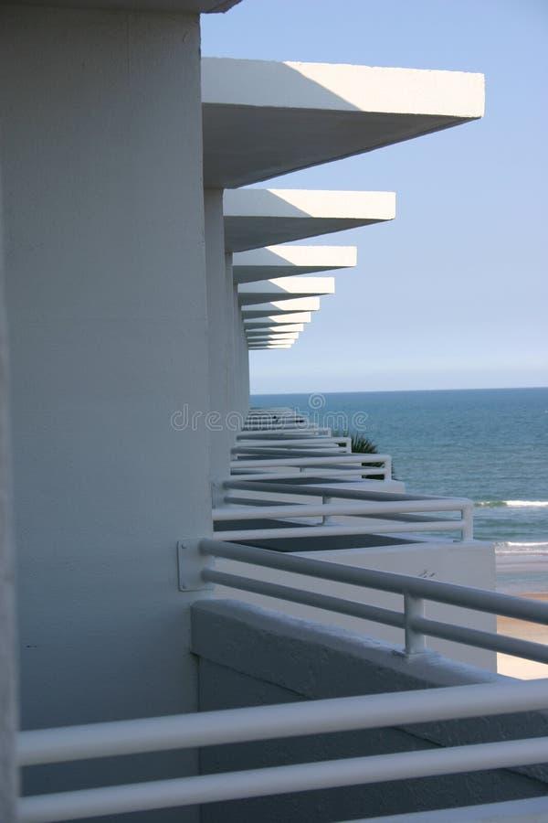 Mening van uw balkon royalty-vrije stock foto's