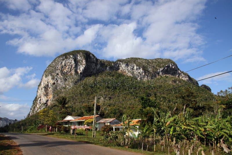 Mening van Vinales vallei, Cuba royalty-vrije stock foto