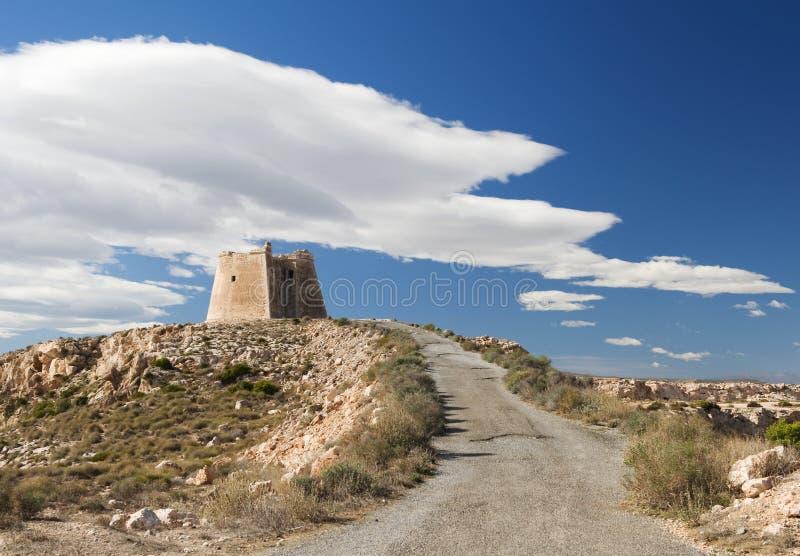 Mening van Watchtower van Mesa Roldan royalty-vrije stock afbeelding