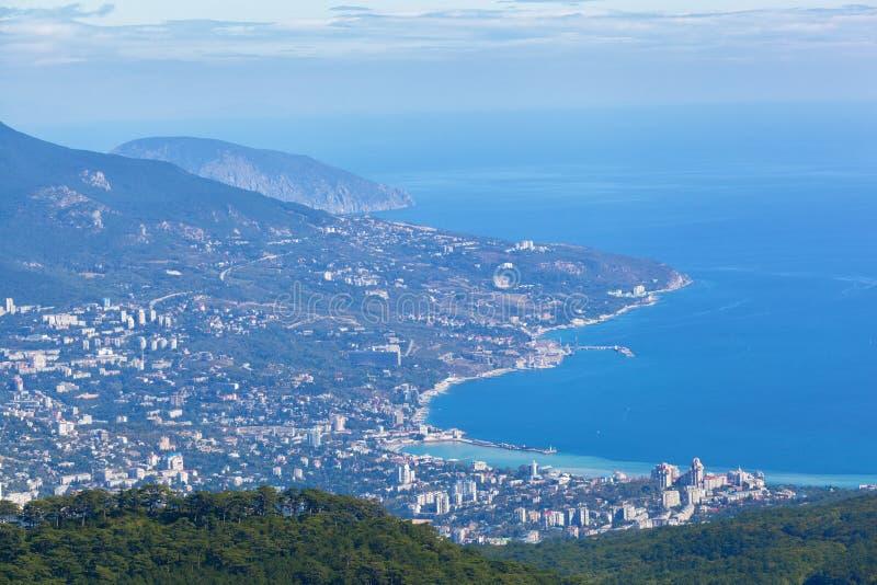 Mening van Yalta royalty-vrije stock afbeeldingen
