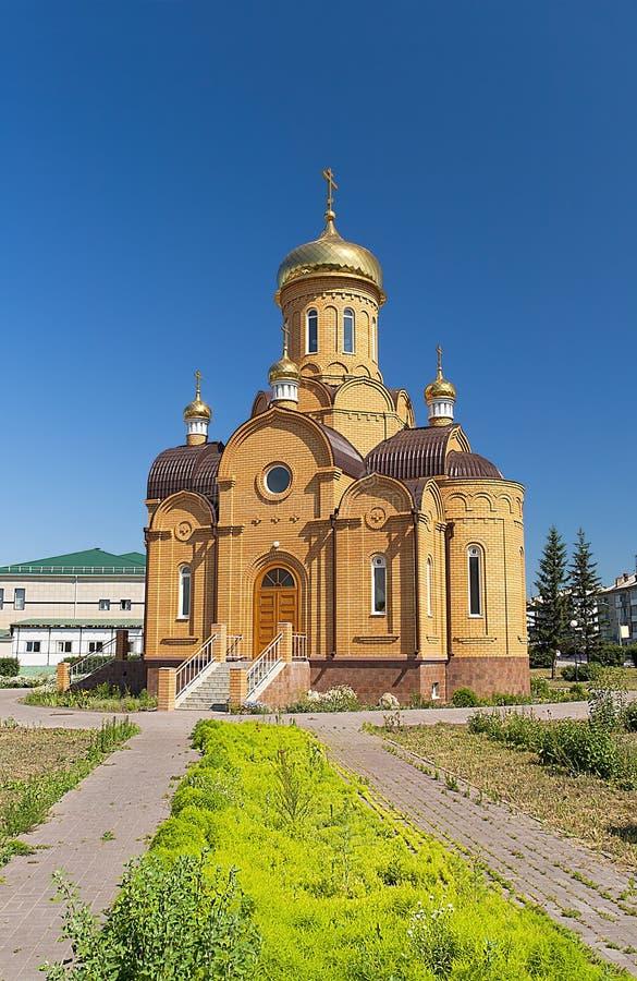 Meningen van de Orthodoxe Kerk van Aartsengel Michael stock afbeelding