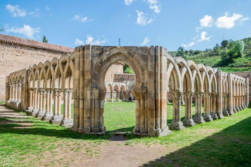 Meningen van de stad Soria royalty-vrije stock afbeeldingen