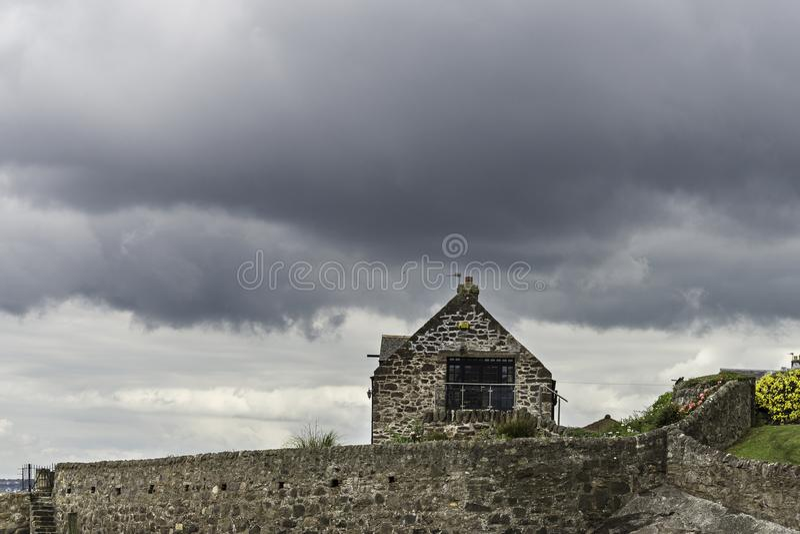 Meningen van Laag Largo dorp royalty-vrije stock afbeelding