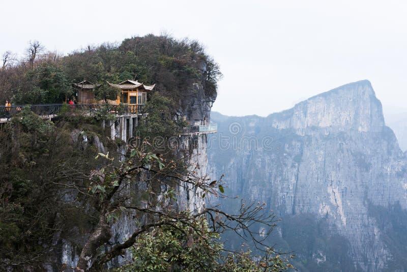 Download Meningspunt Van Tianmen-berg Stock Afbeelding - Afbeelding bestaande uit nave, park: 54076443
