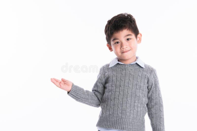 Menino asiático - várias imagens do isolamento foto de stock royalty free