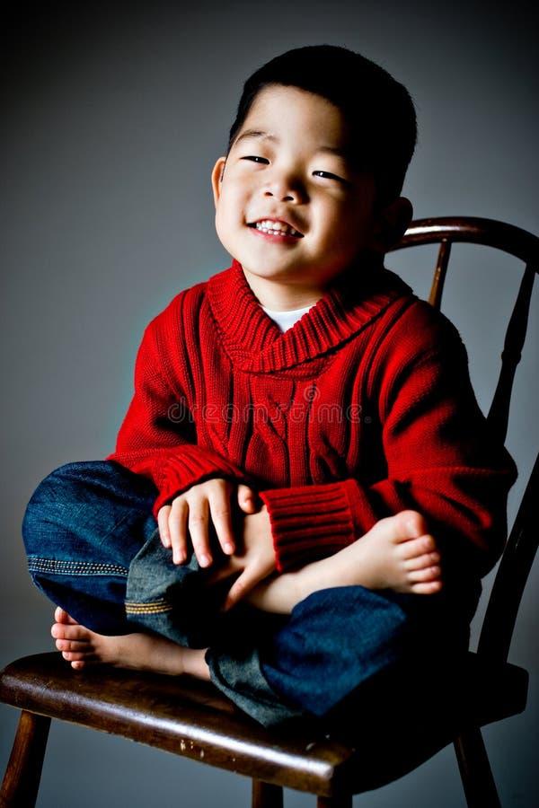 Menino coreano fotos de stock royalty free