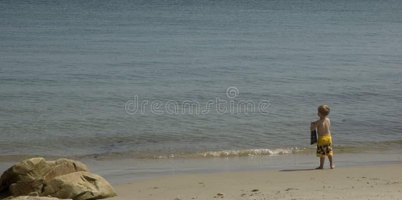 Menino Da Praia Imagem de Stock