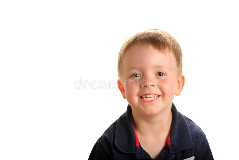 Menino de sorriso novo imagem de stock royalty free