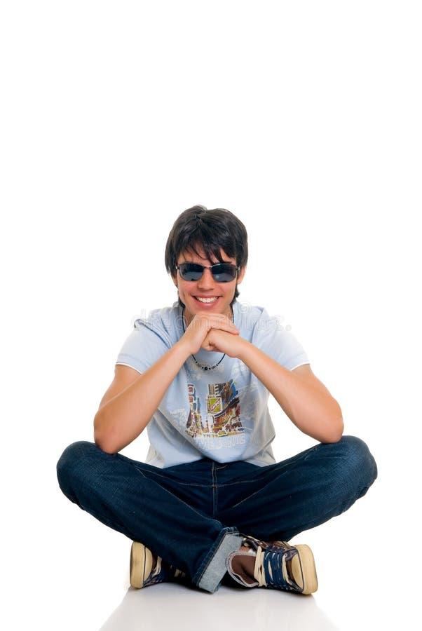 Menino do adolescente fotografia de stock
