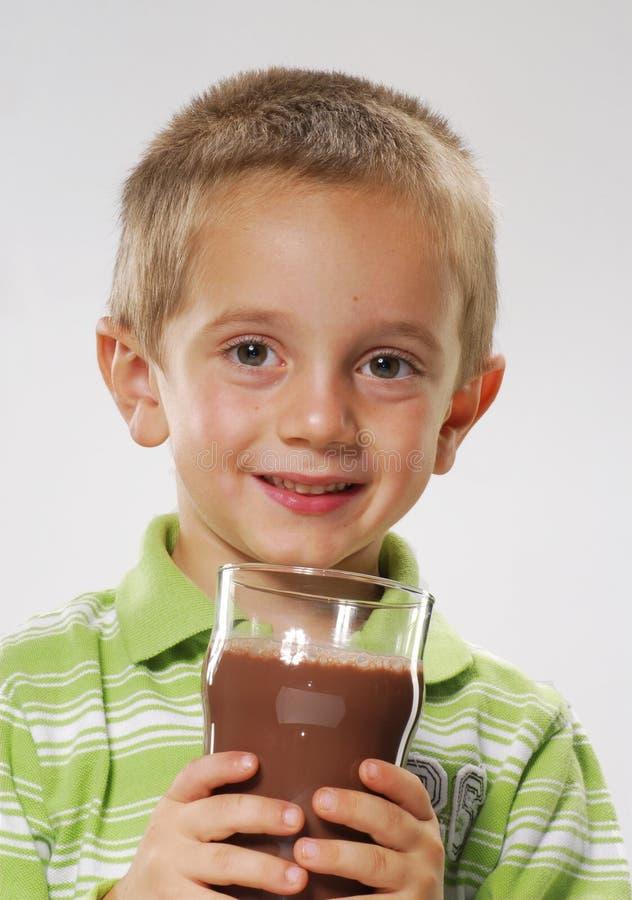 Menino do chocolate. fotos de stock