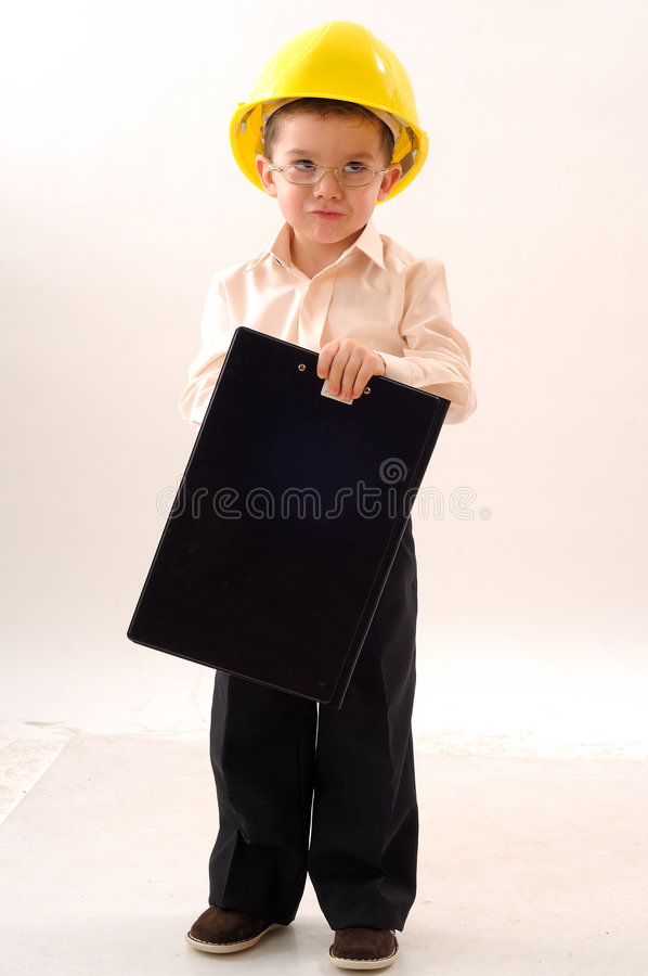 Menino do coordenador imagens de stock