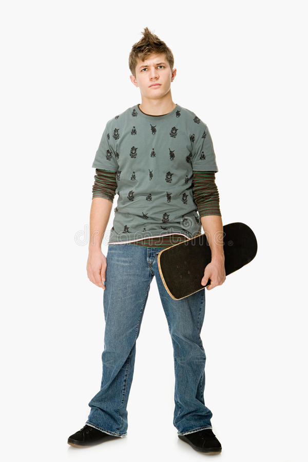 Menino do skater fotos de stock royalty free