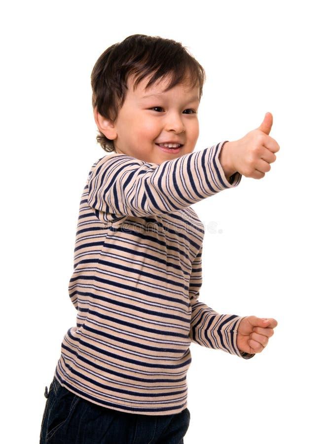 Menino feliz fotografia de stock royalty free