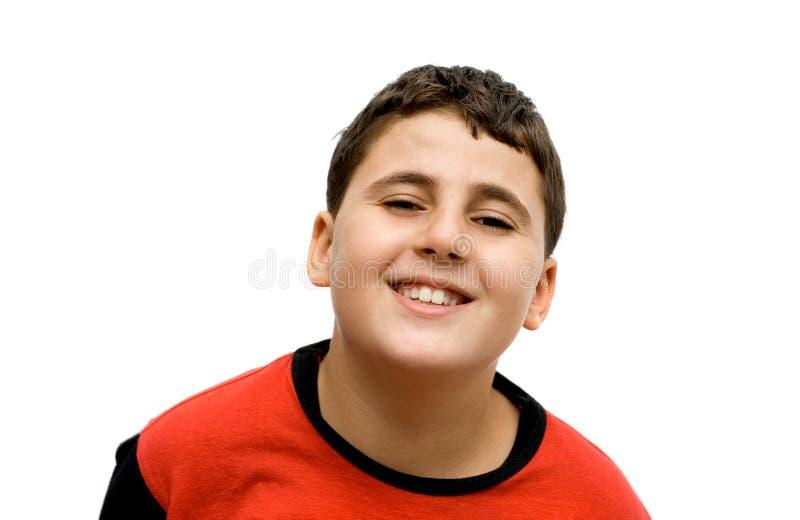 Menino feliz foto de stock