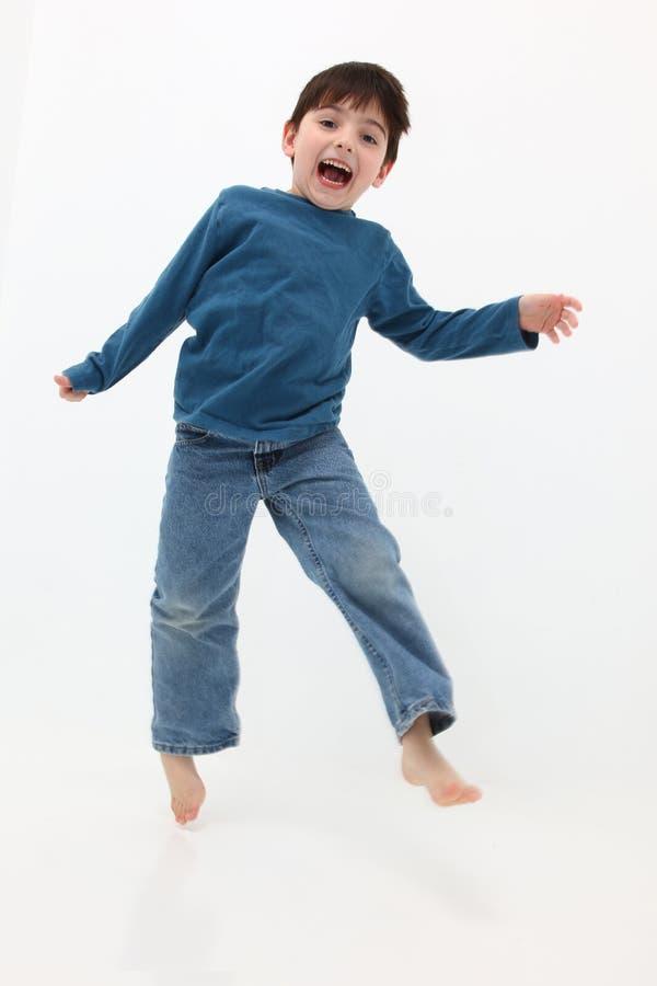 Menino feliz imagem de stock
