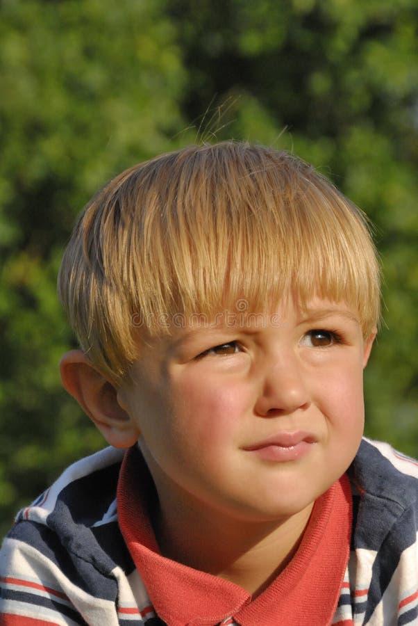 Download Menino louro foto de stock. Imagem de macho, criança - 16868808
