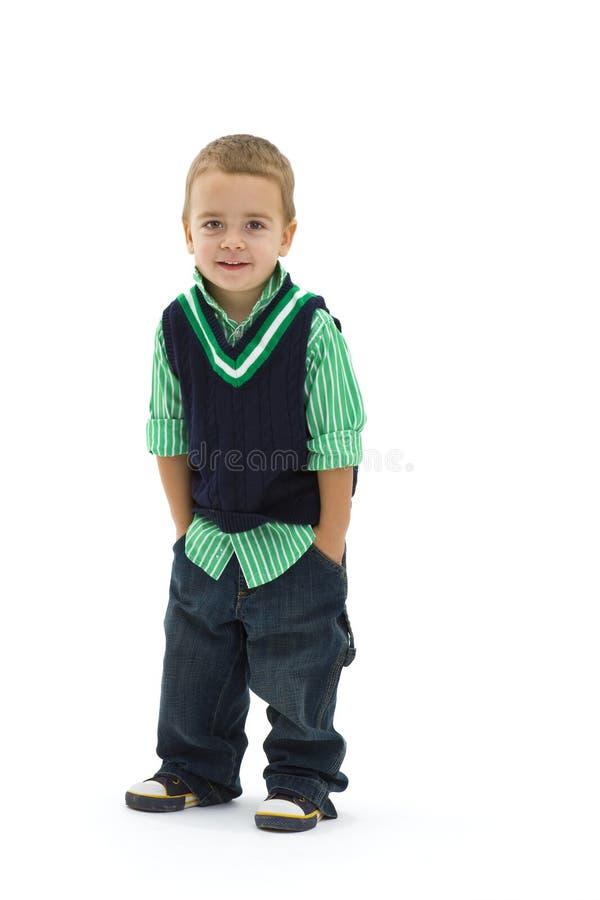 Menino pré-escolar fotos de stock