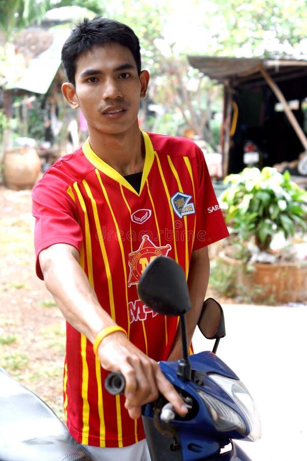 Menino tailandês fotografia de stock royalty free
